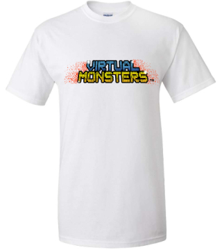 Official Virtual Monsters T-Shirt